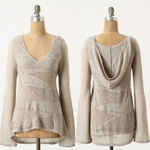 Anthropologie | Little Yellow Bird sweater XS